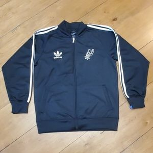 Adidas NBA Spurs Zip-up
